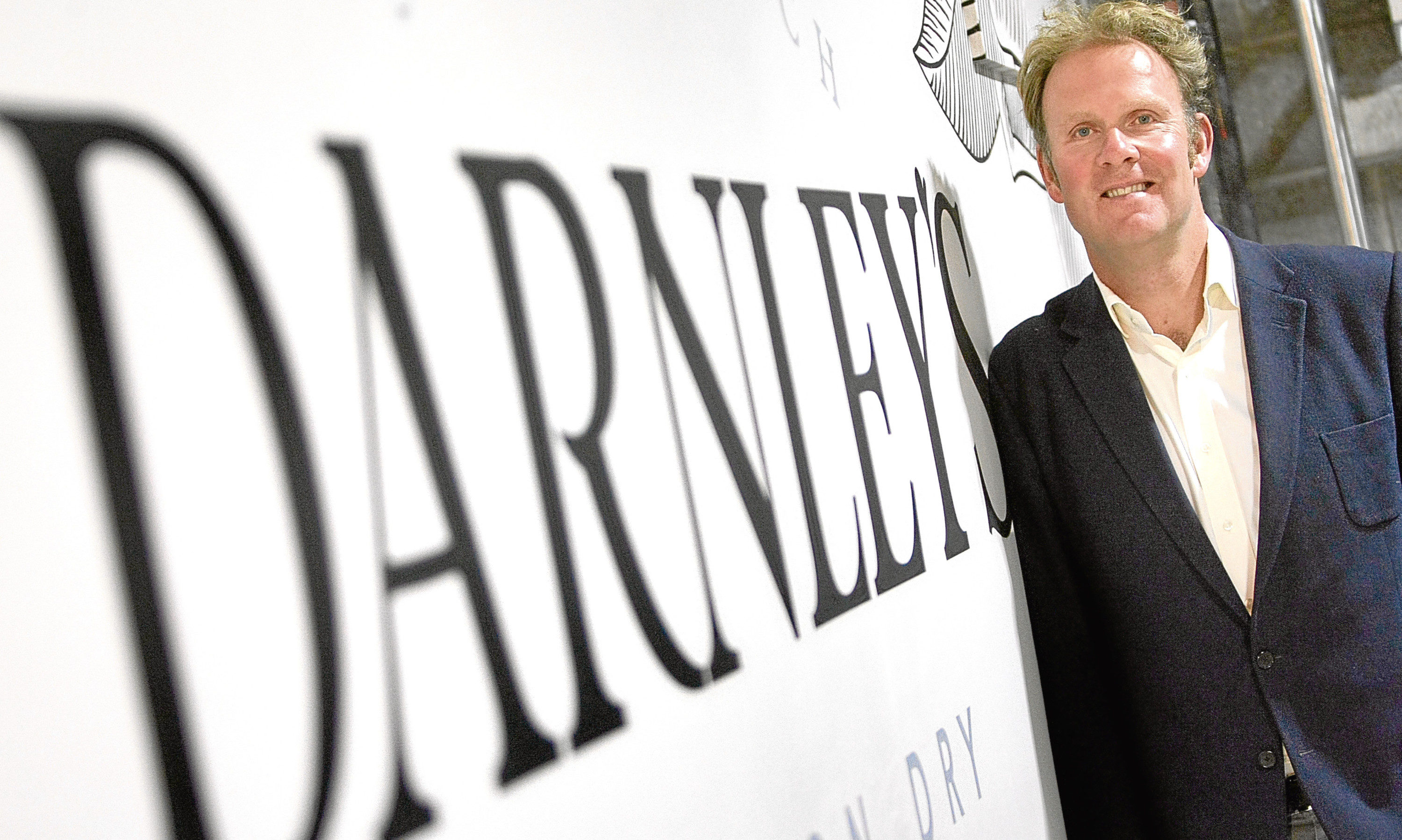 William Wemyss as production of Darnleys Gin was transferred to Kingsbarns in Fife.