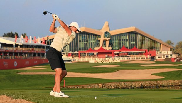 Rory McIlroy will make his season debut at Abu Dhai this week, where's he's spent much of the winter rehabbing.