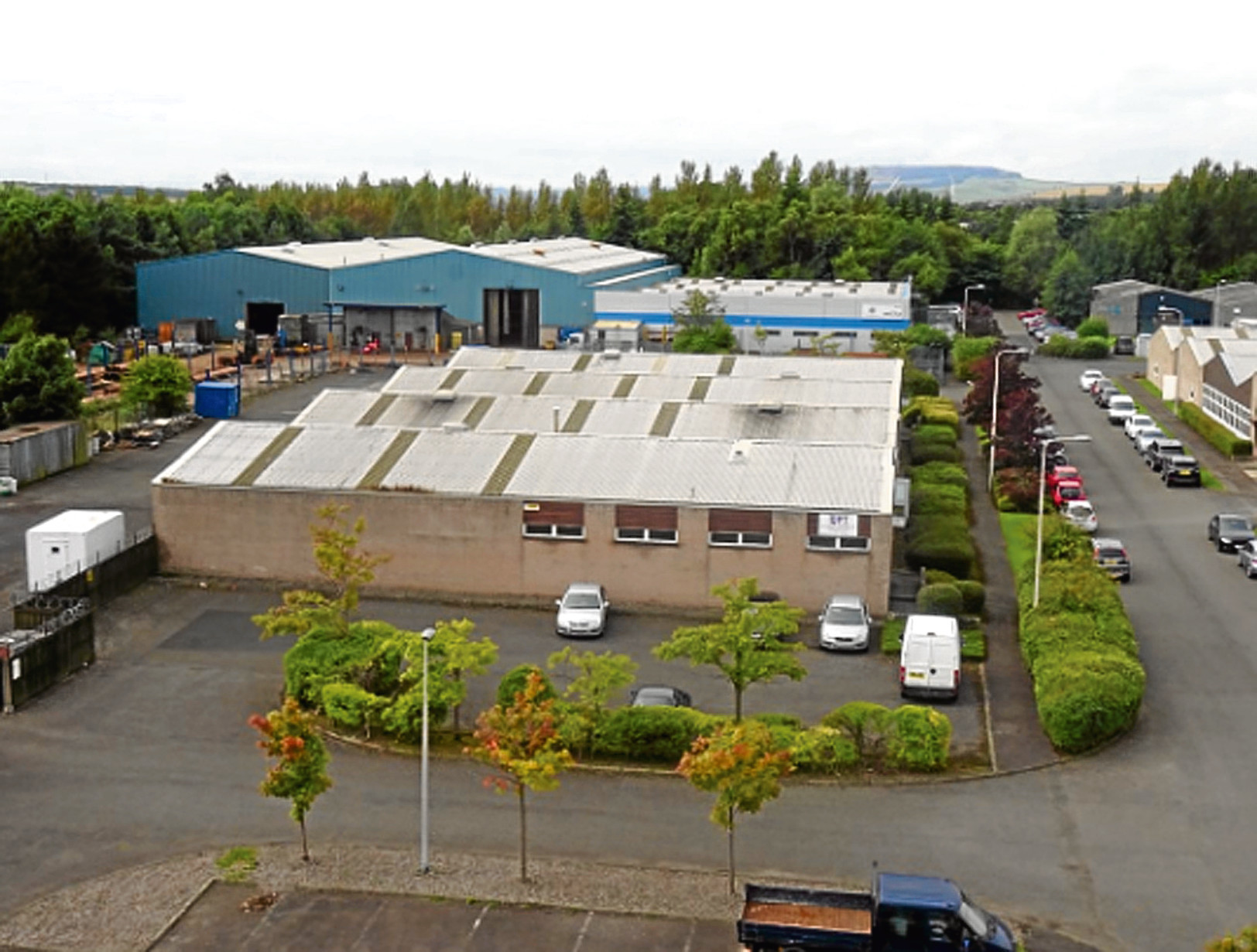 UNits at Southfield Industrial Estate in Glenrothes