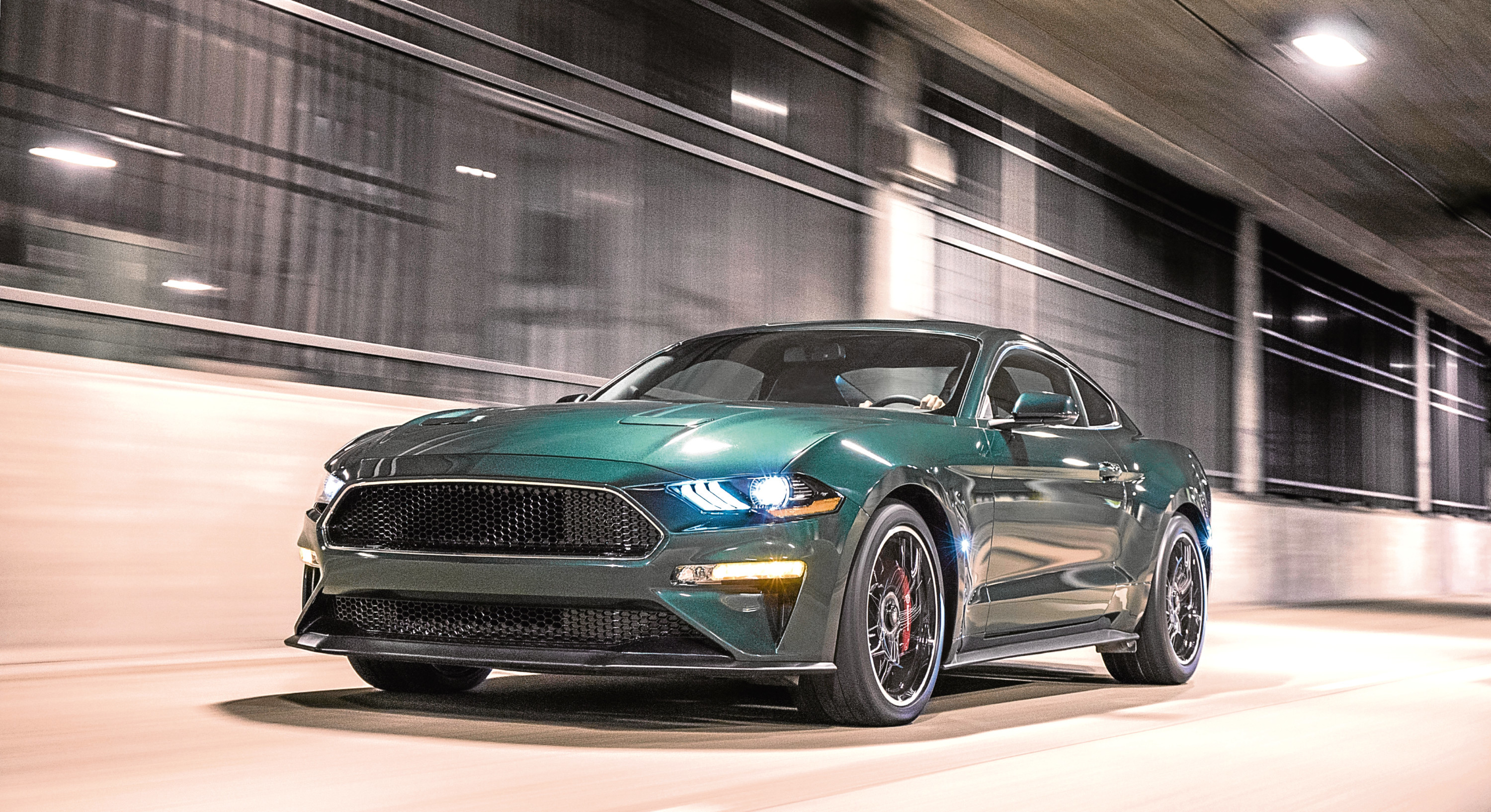 Celebrating the 50th anniversary of iconic movie Bullitt and its fan-favorite San Francisco car chase, Ford introduces the new cool and powerful 2019 Mustang Bullitt.