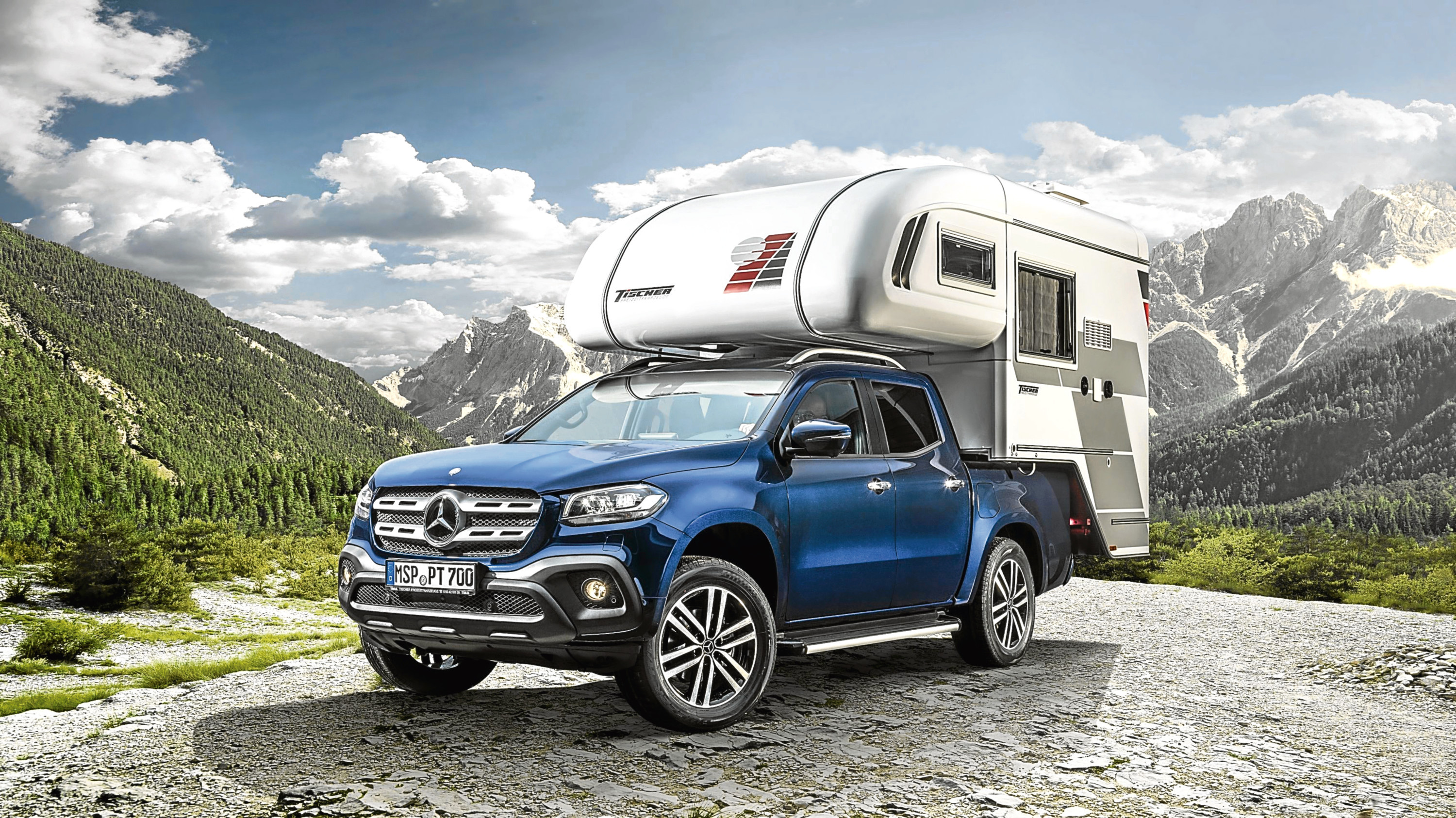 Undated Handout Photo of the new Mercedes-Benz X-Class pick-up truck. See PA Feature MOTORING News. Picture credit should read: Mercedes-Benz/PA. WARNING: This picture must only be used to accompany PA Feature MOTORING News.