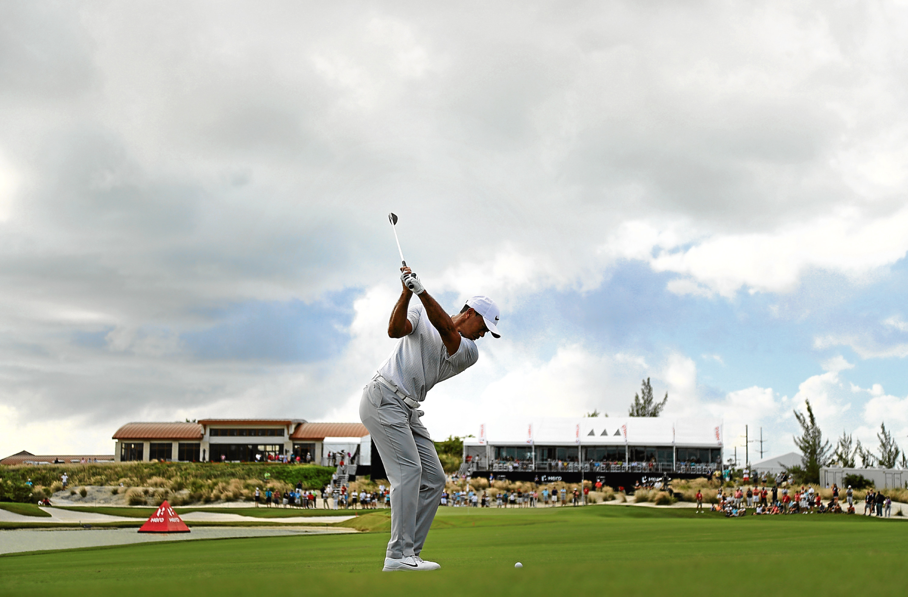 Tiger Woods' return this week will help with golf's troublesome public perception.