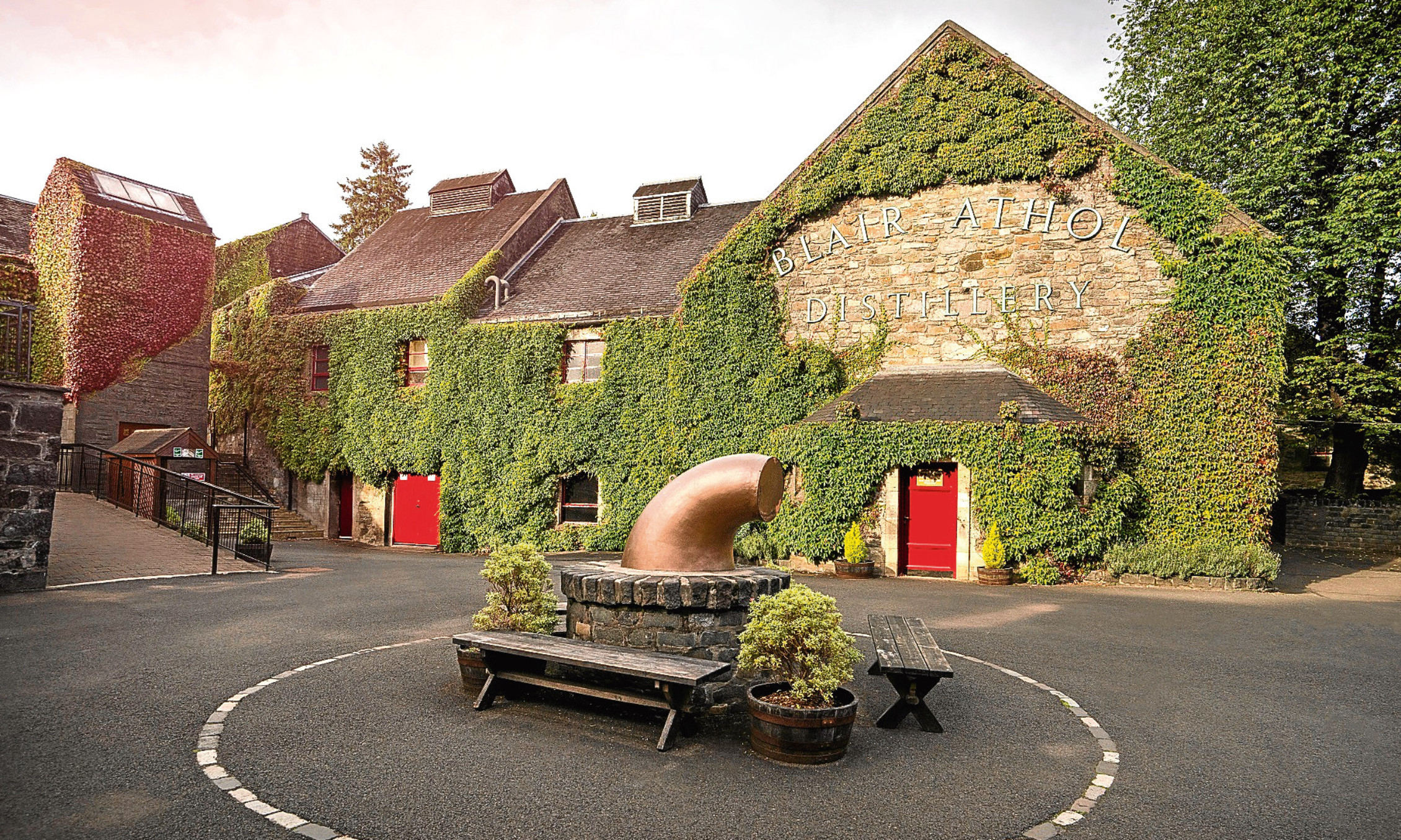 Blair Athol Distillery in Pitlochry was Diageo's busiest distillery visitor centre.
