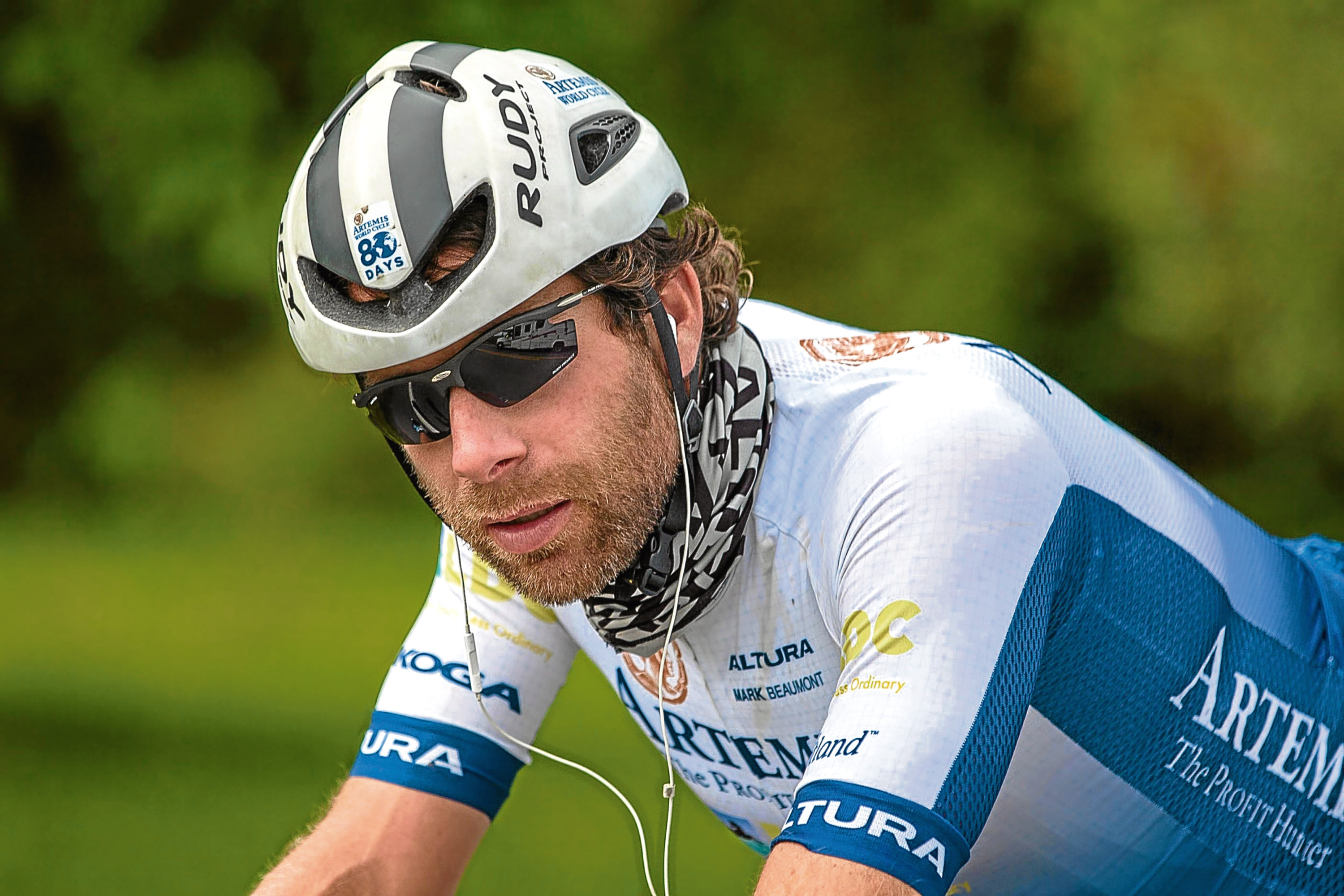 Mark Beaumont successfully completed his challenge to circumnavigate the globe within 80 days.