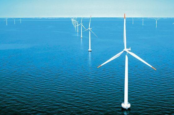 How the Neart na Gaoithe wind farm could look.
