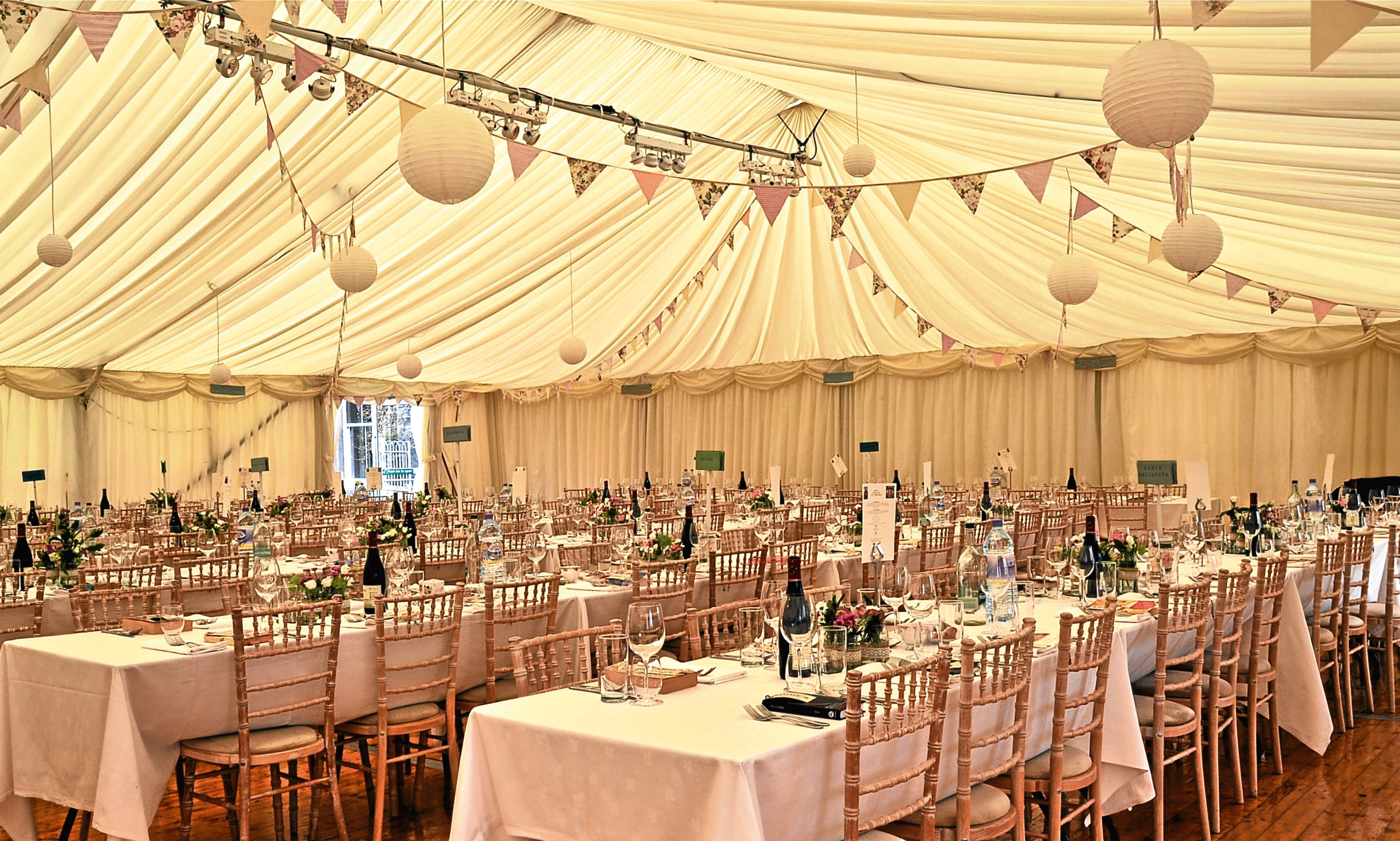An Allison & Stiven marquee