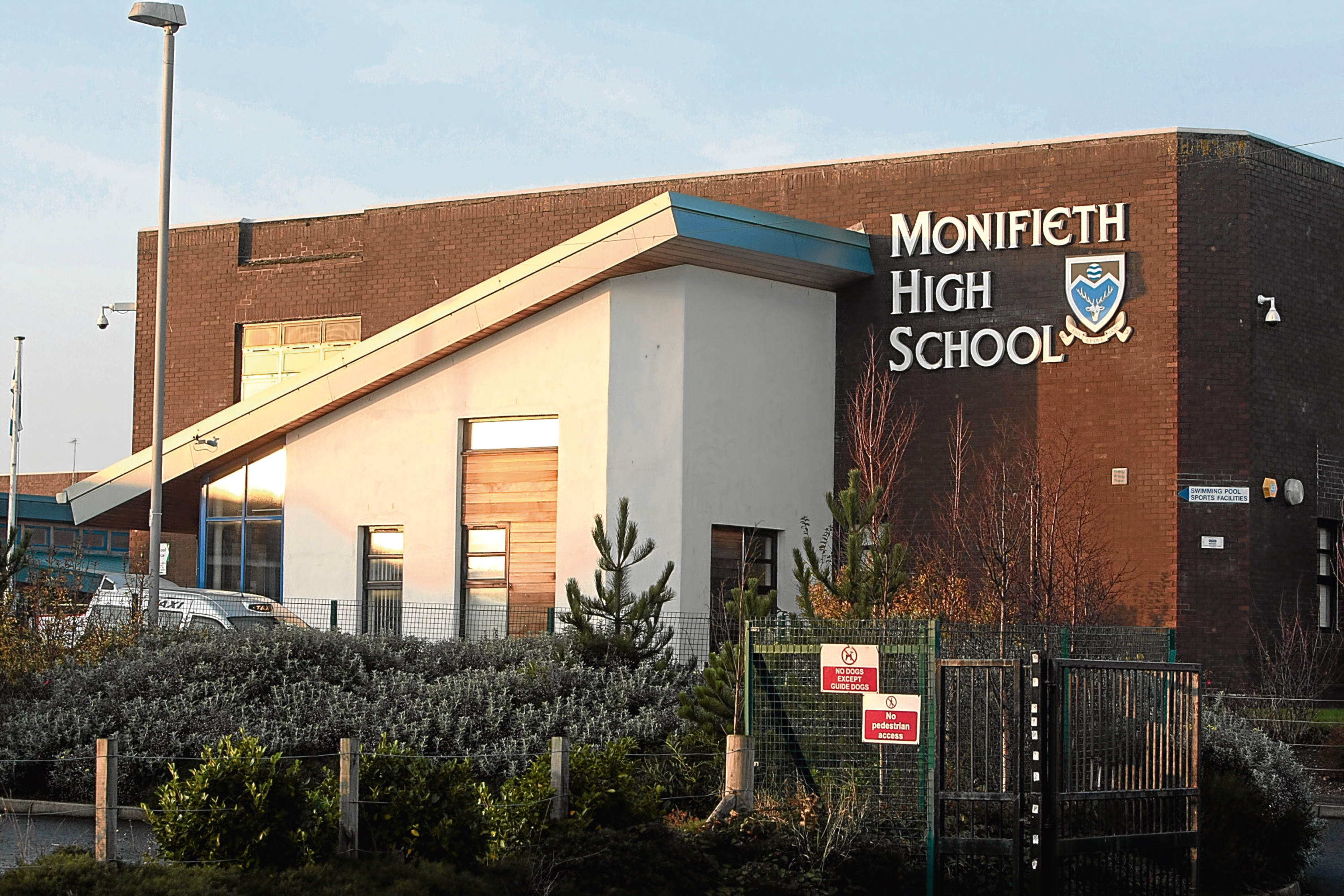 Monifeith High is a key part of the future provision equation.