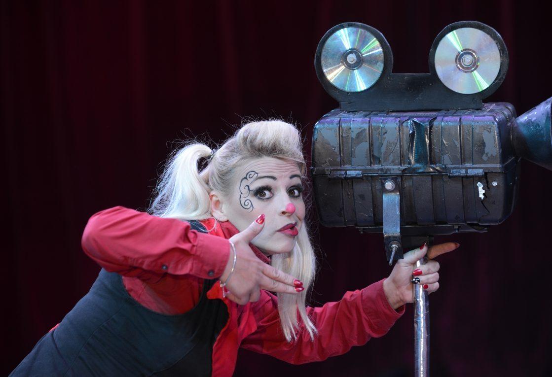 Europe's 'funniest female clown' Andrea Delbosq