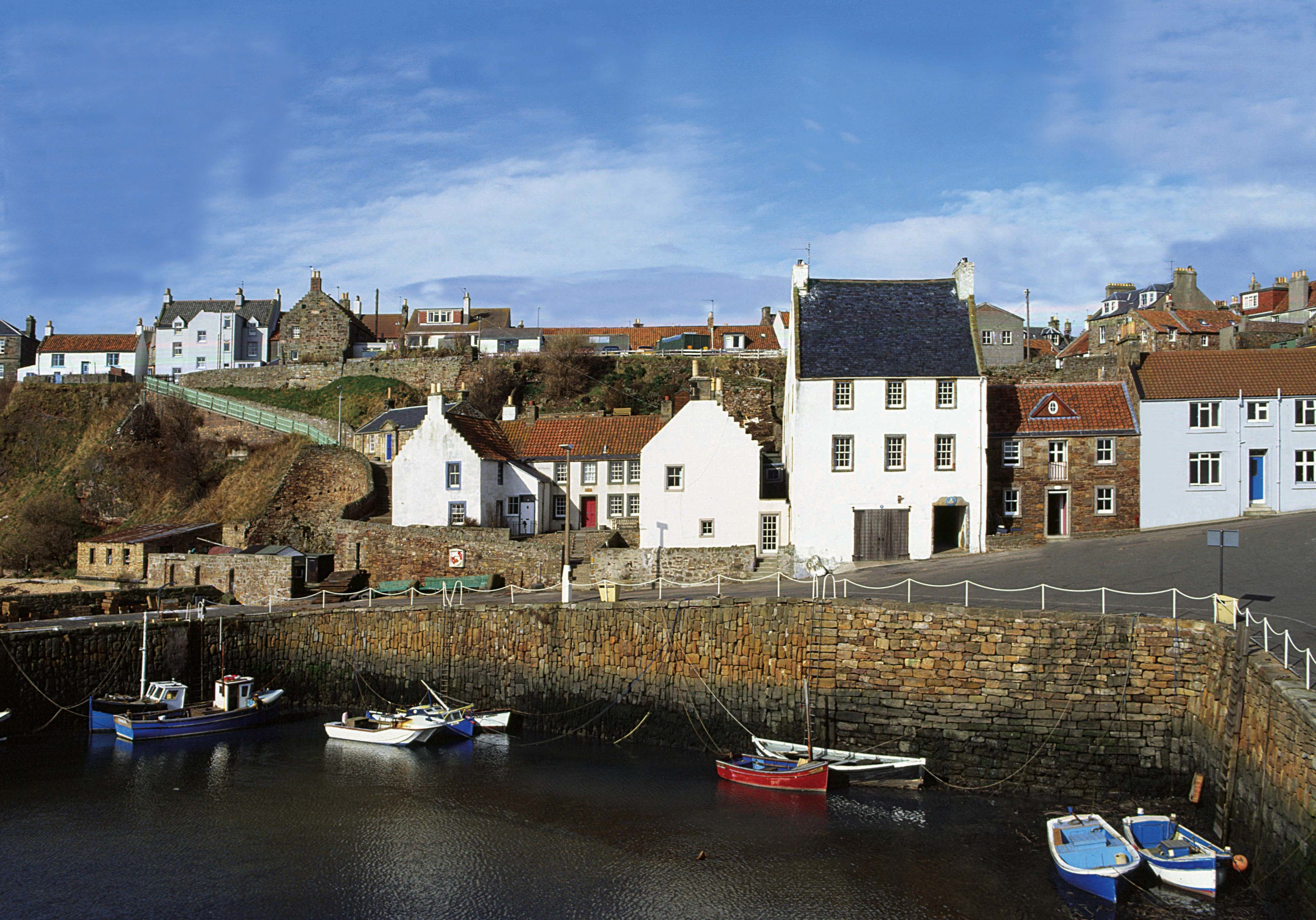 The East Neuk of Fife is a particularly sought after location for second homes.