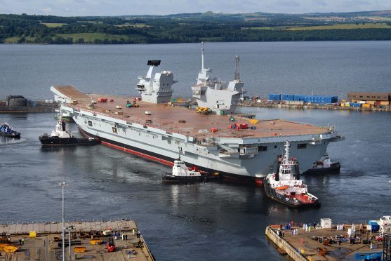 HMS Queen Elizabeth was assembled at Babcock's Rosyth yard.