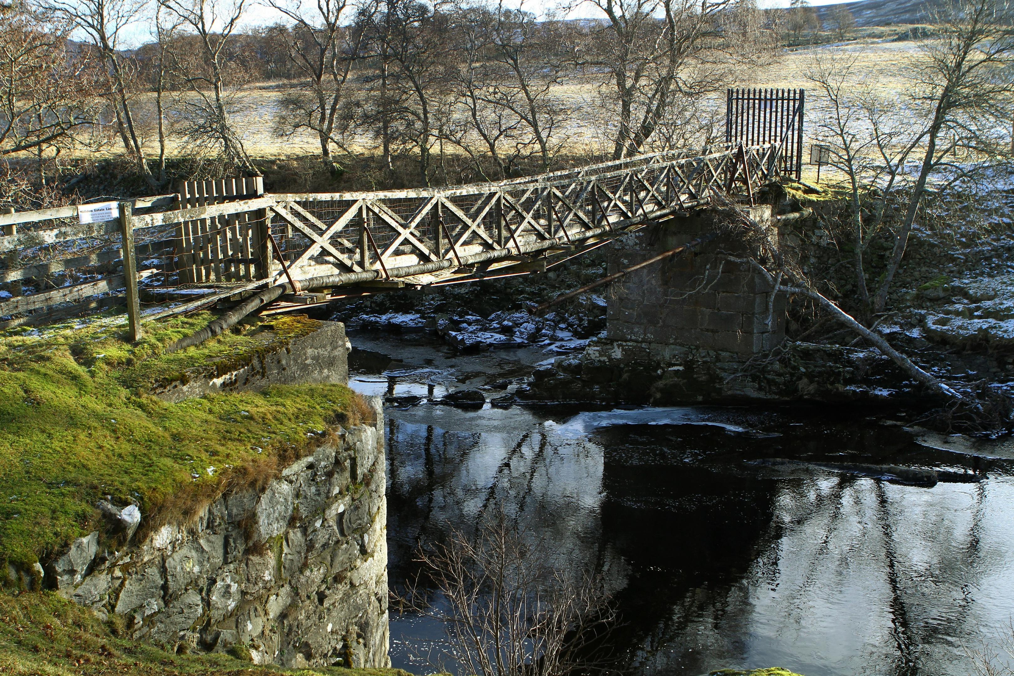 Buskhead Bridge at Tarfside