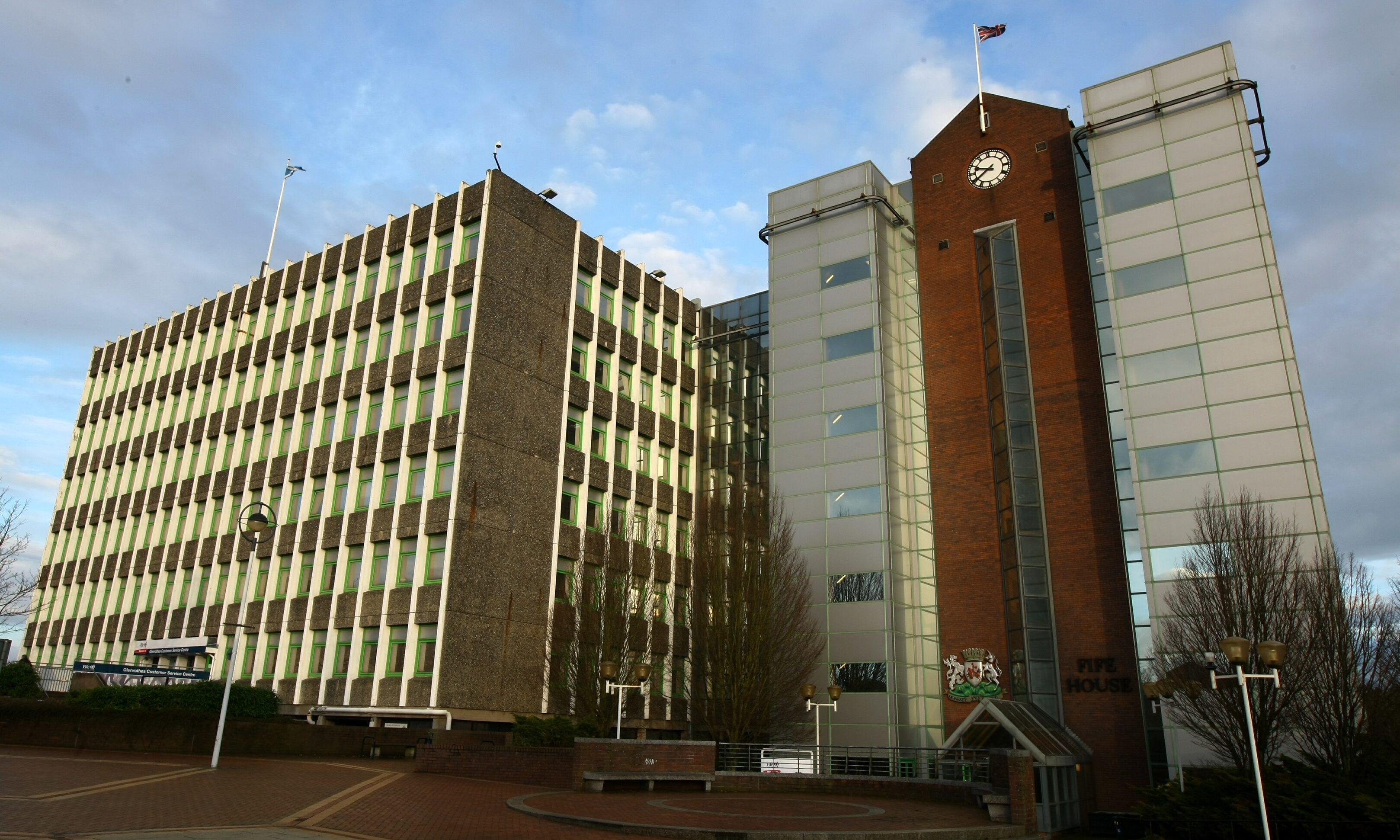 Fife House, the headquarters of Fife Council.