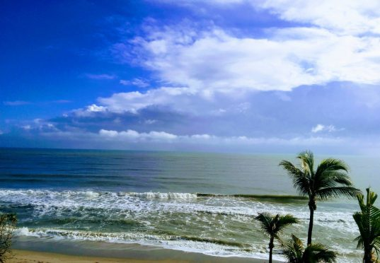 Jupiter Beach in Southeast Florida.