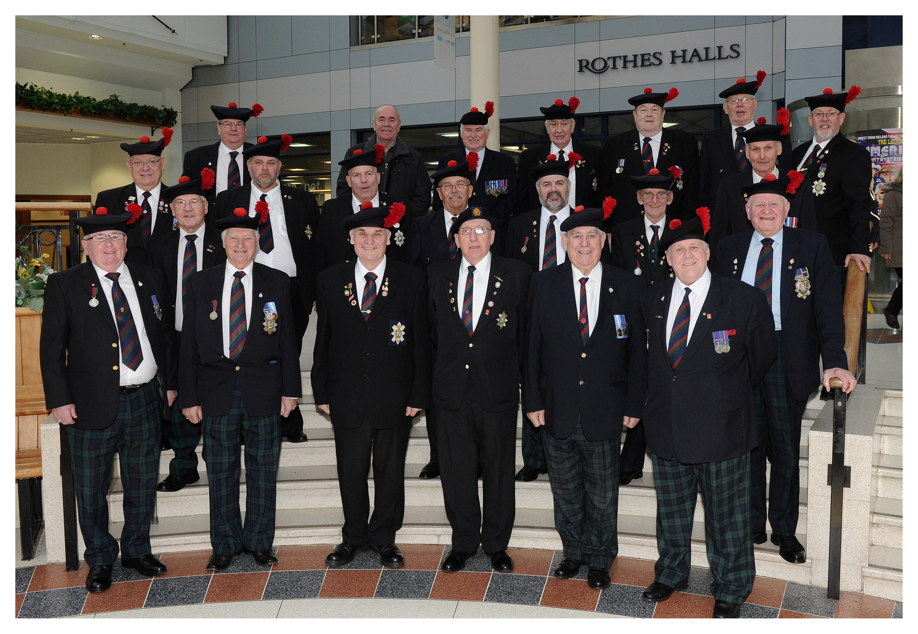 Red Hackle Day is marked in Glenrothes
