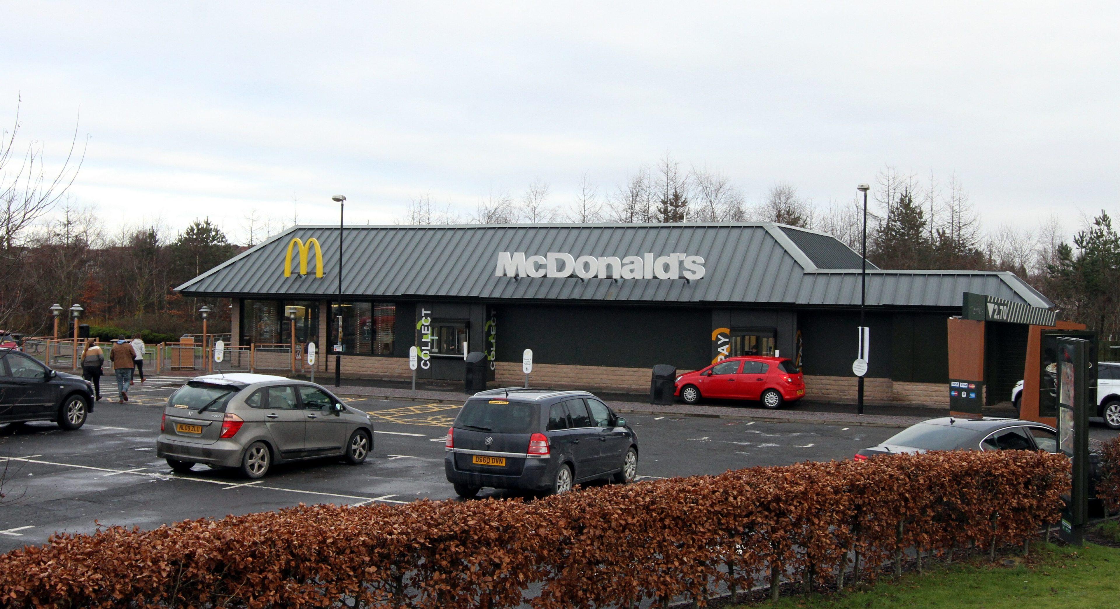 McDonalds at Broxden, Perth.