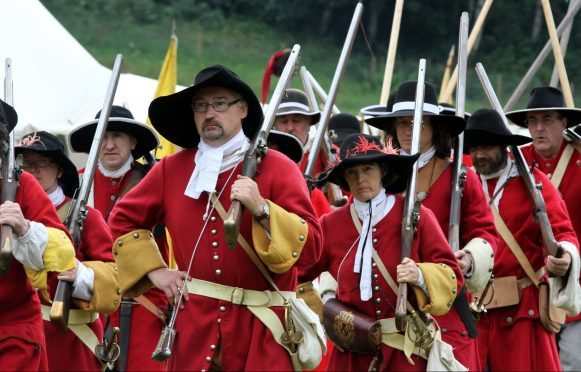 Soldiers of Killiecrankie.