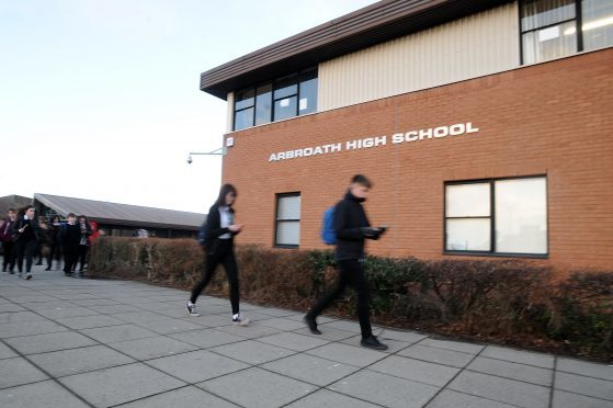 The plans include a new single-site secondary in Arbroath.