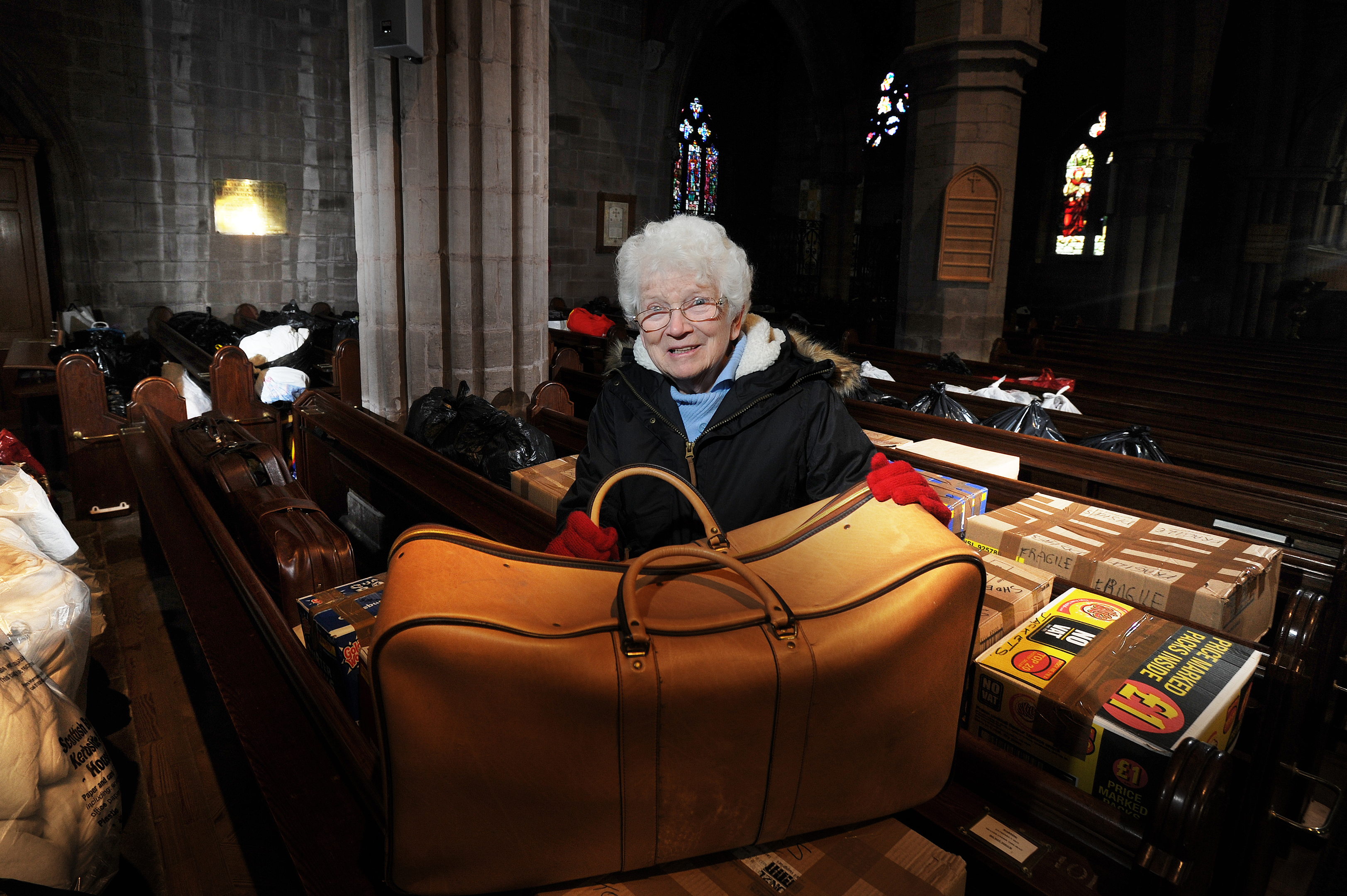 Irene Gillies hopes more items will be donated before Friday's deadline