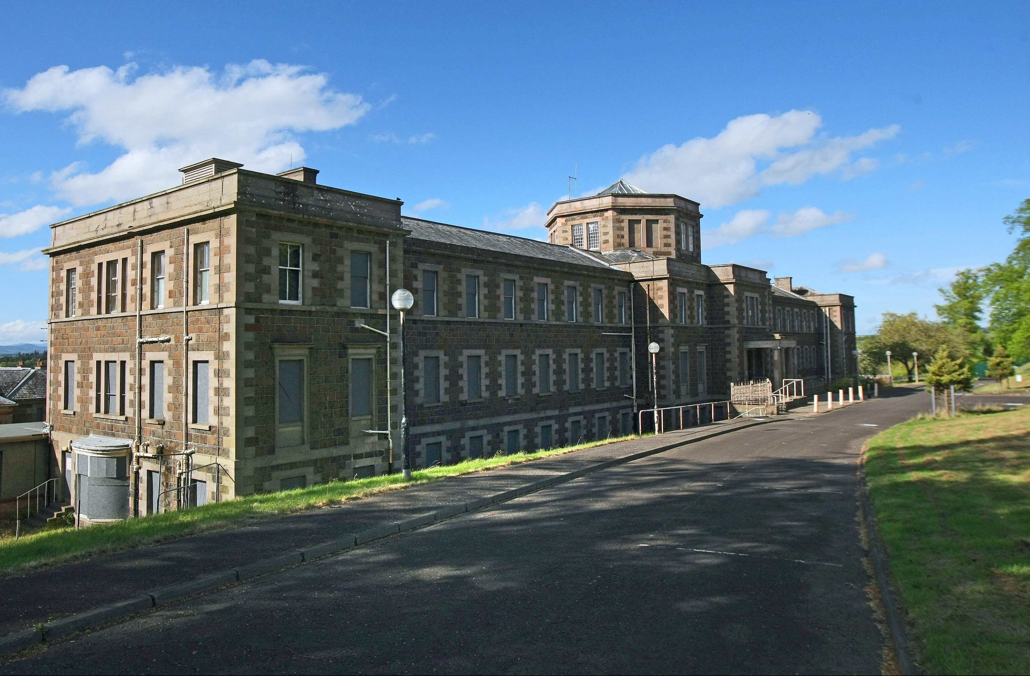 The historic former Murray Royal Hospital which could be converted into flats.