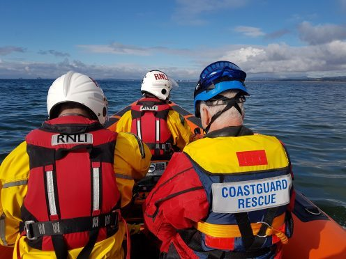 Coastguard rescued the vessel in the early hours.