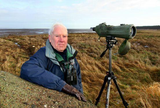 Ornithologist Norman Elkins