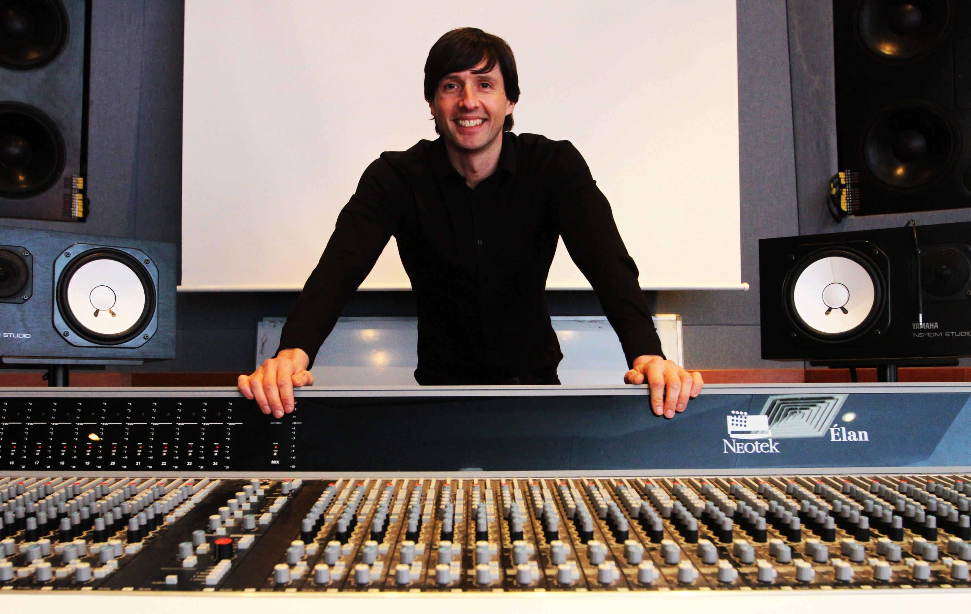 Music business lecturer Richard Smernicki