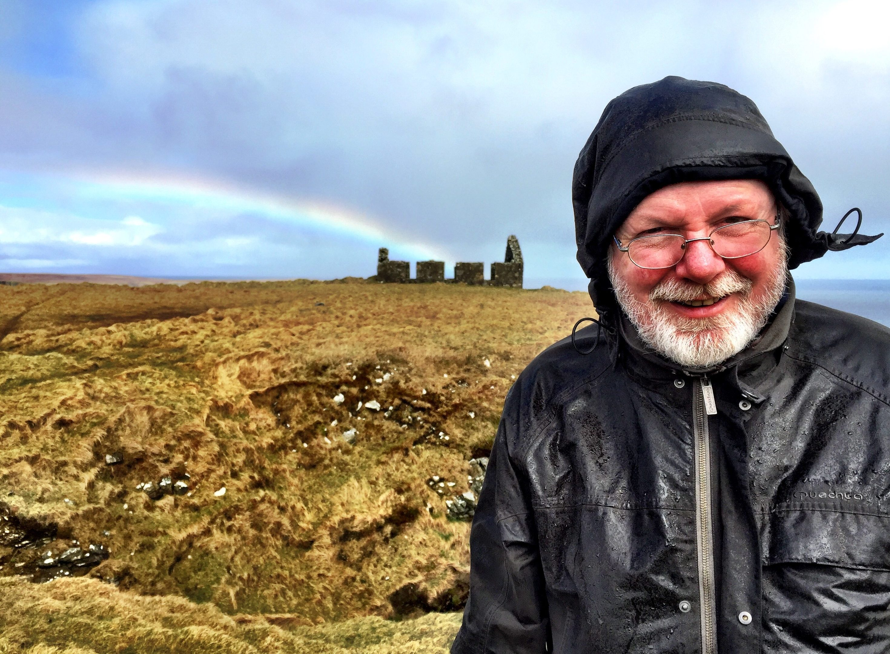 Peter May on location in the Hebrides