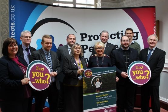 The launch of Dundee Child Protection Committee's Annual Report and Delivery Plan .