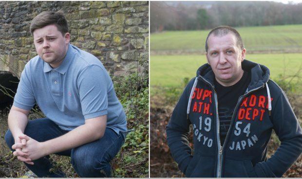 L-R: Eddie Hunt and Stuart Mckay