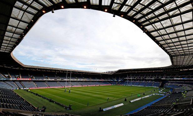 The BT Murrayfield Stadium, Edinburgh.