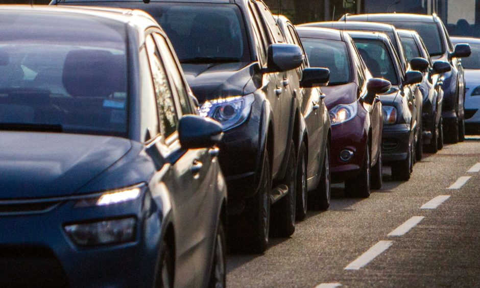 Two-thirds of people commute by car, new figures reveal, as private vehicle use goes up in Scotland.