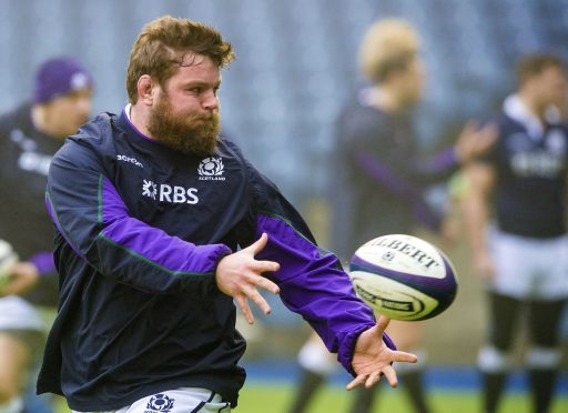 Jon Welsh is the last fit and available tight-head standing for Scotland's 6 Nations opener.