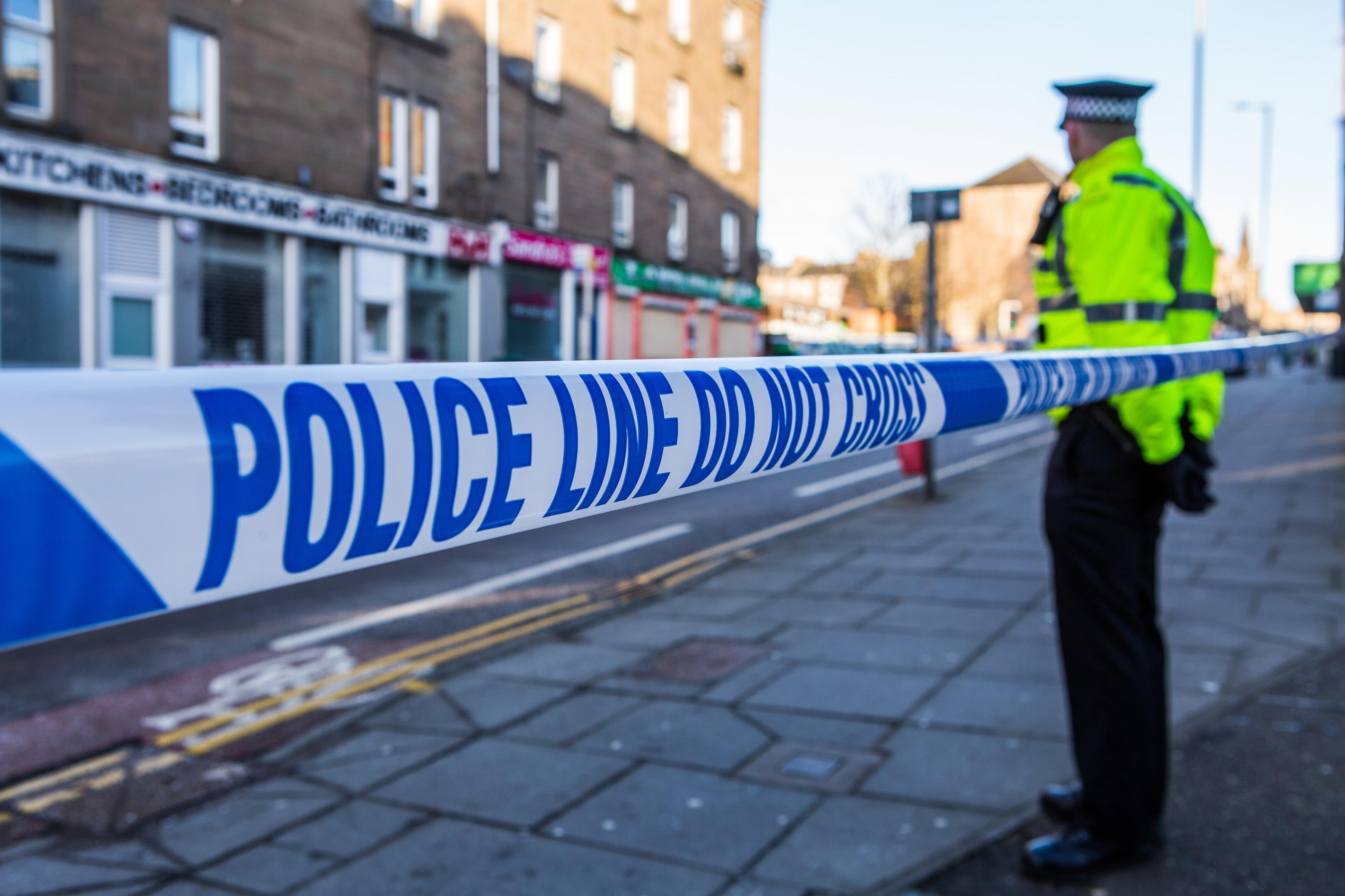 Police on Albert Street
