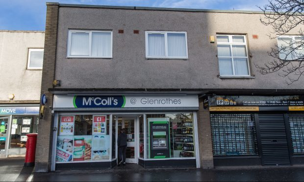 McColls on North Street, Glenrothes.