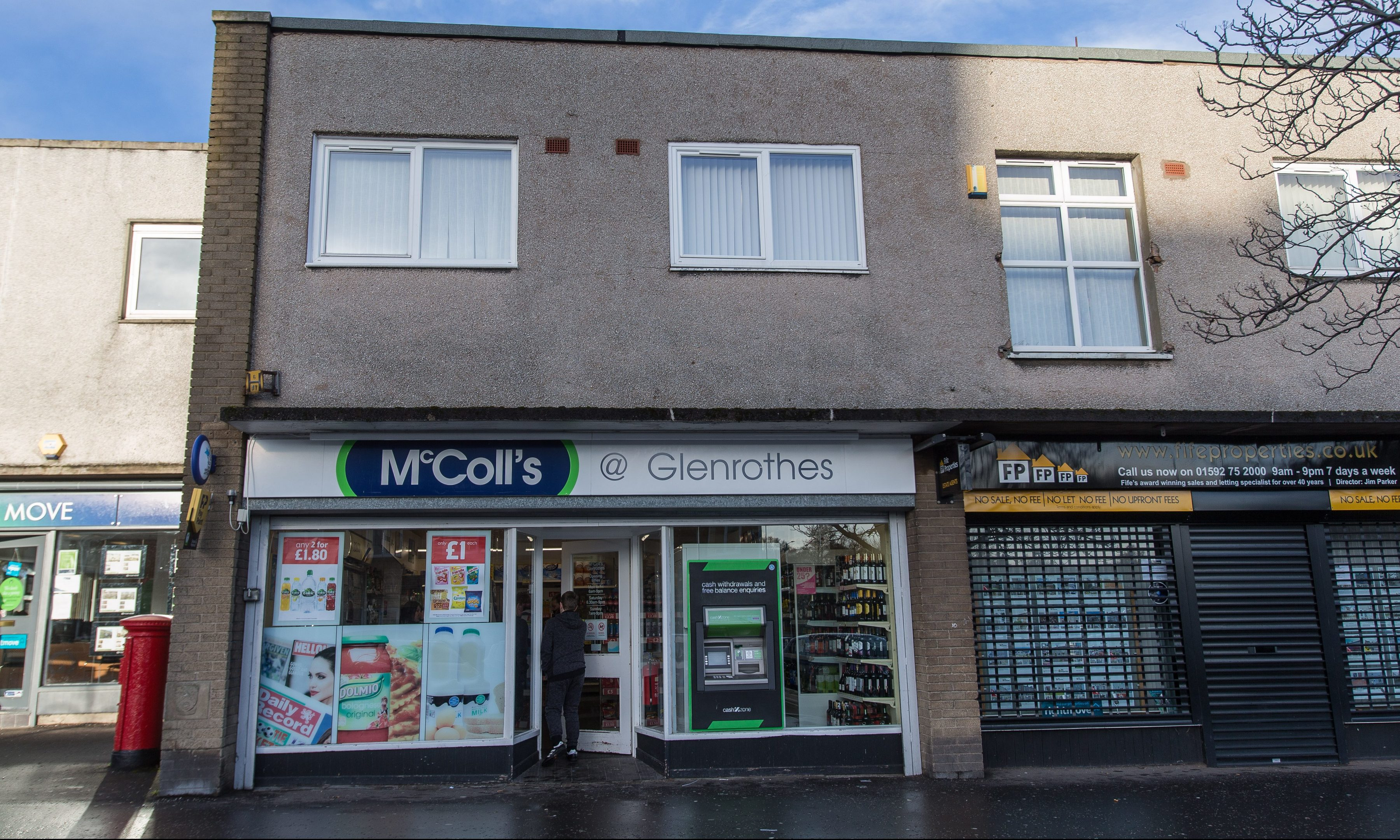 McColls on North Street, Glenrothes.