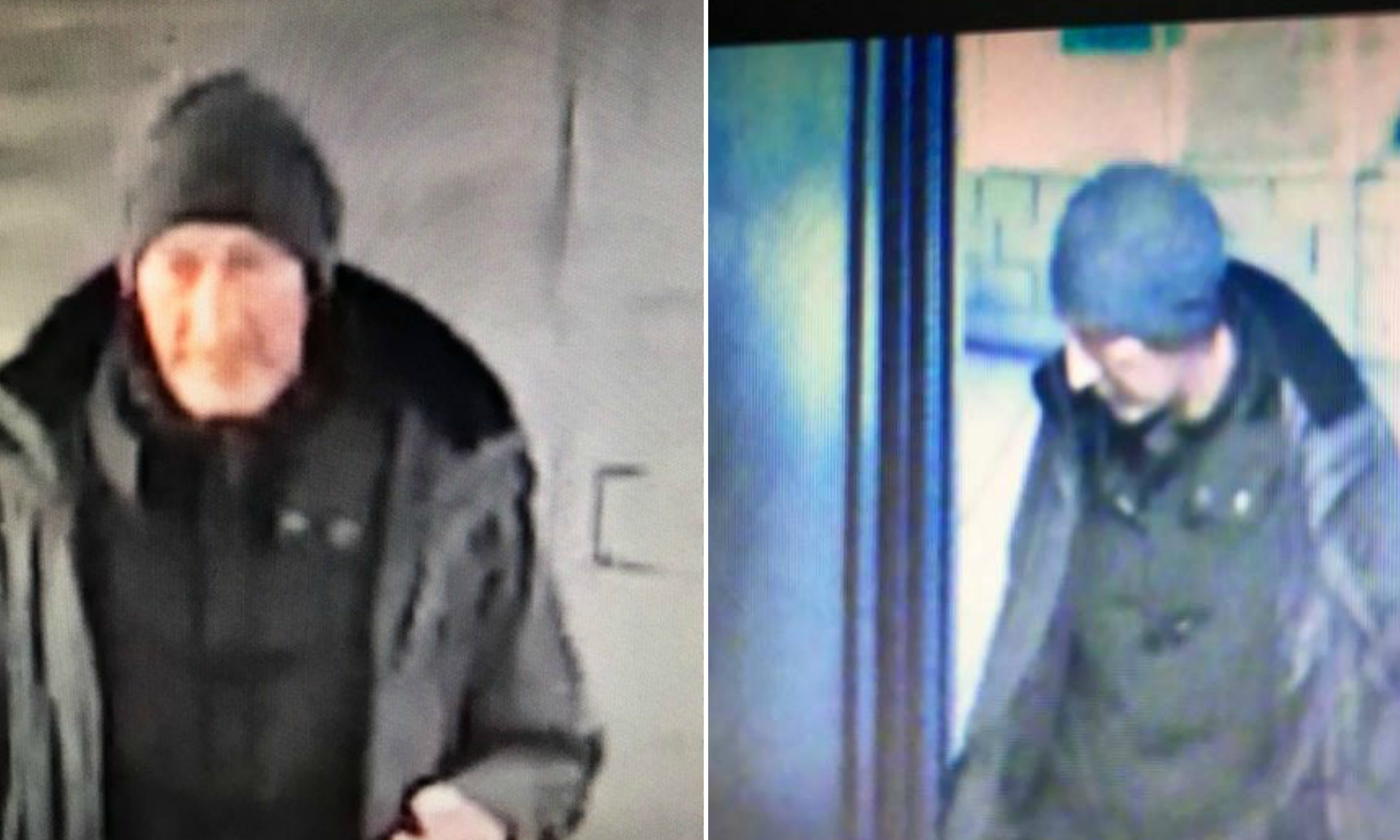 Police are seeking to identify this man following an incident on the Tay Road Bridge.