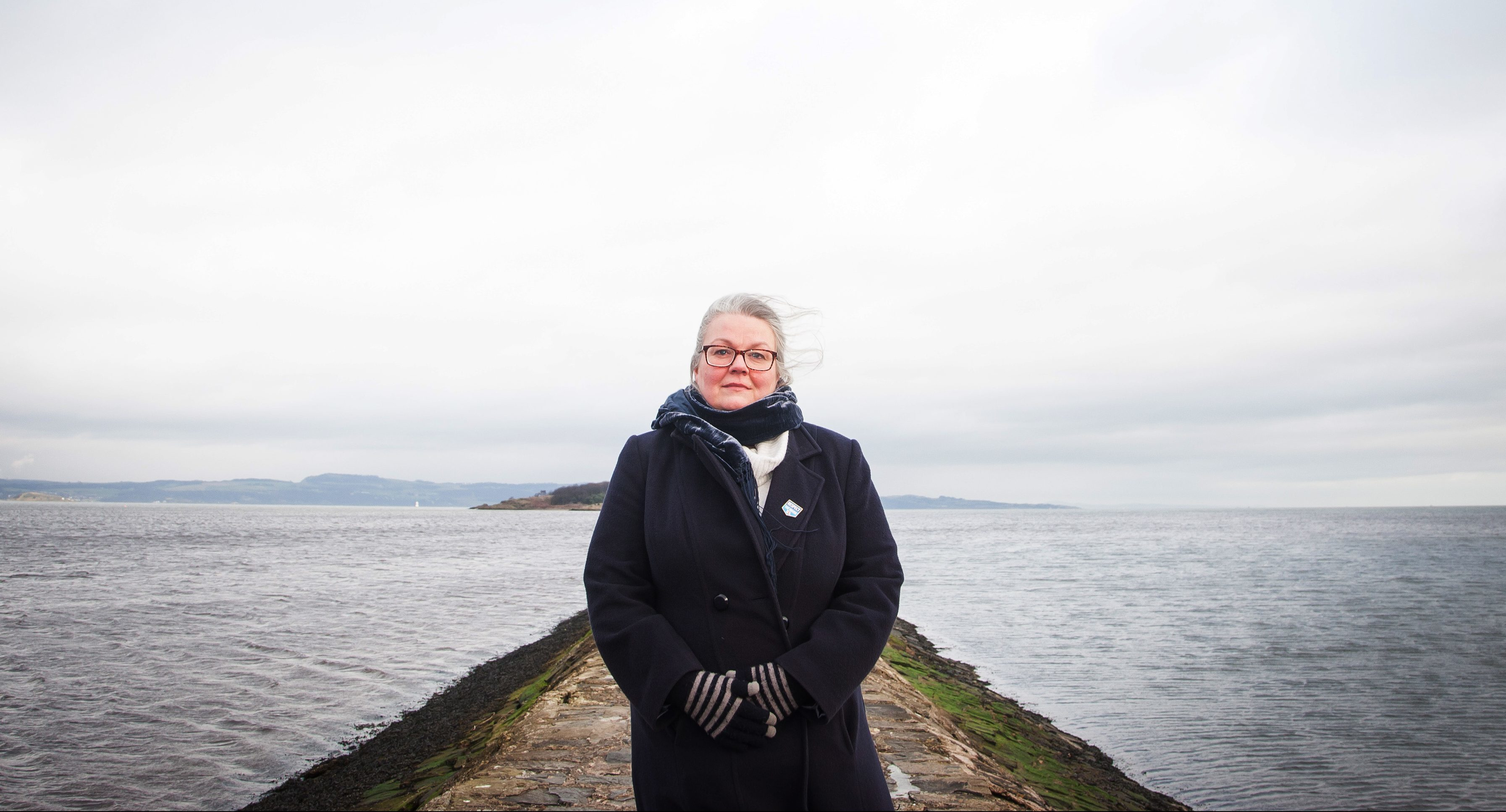 Gillian Barclay launches Water Safety Scotland's drowning prevention strategy.