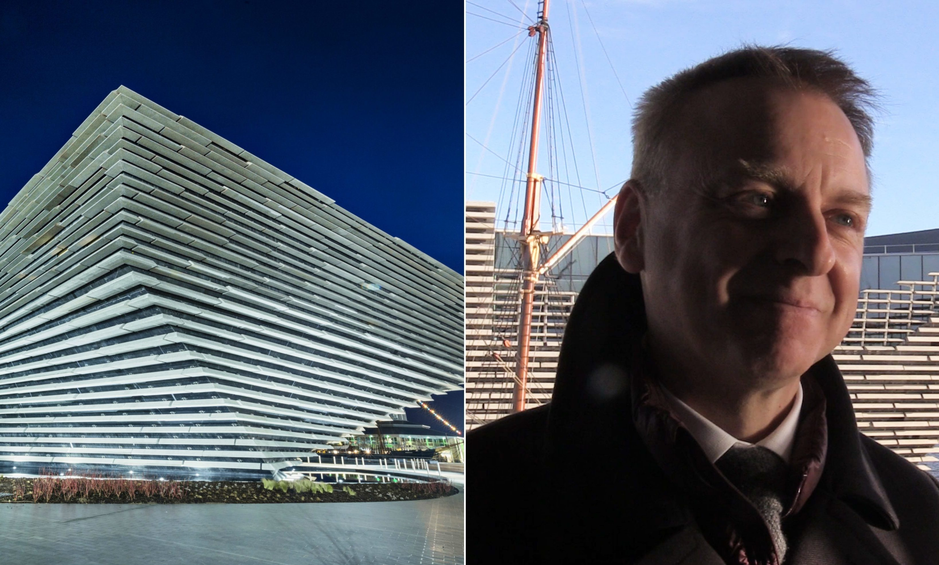 V&A Dundee and its director, Philip Long