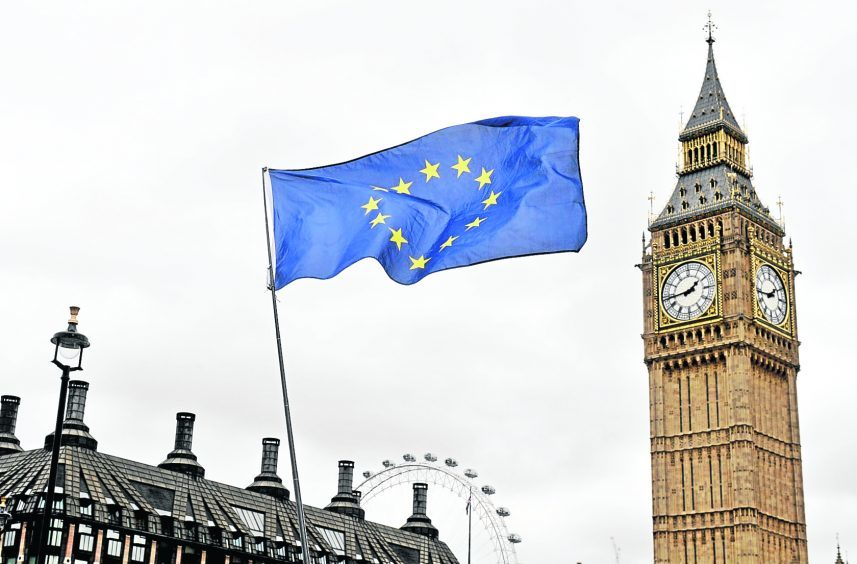 UK ministers want some devolved powers to return to Westminster for a period after Brexit.