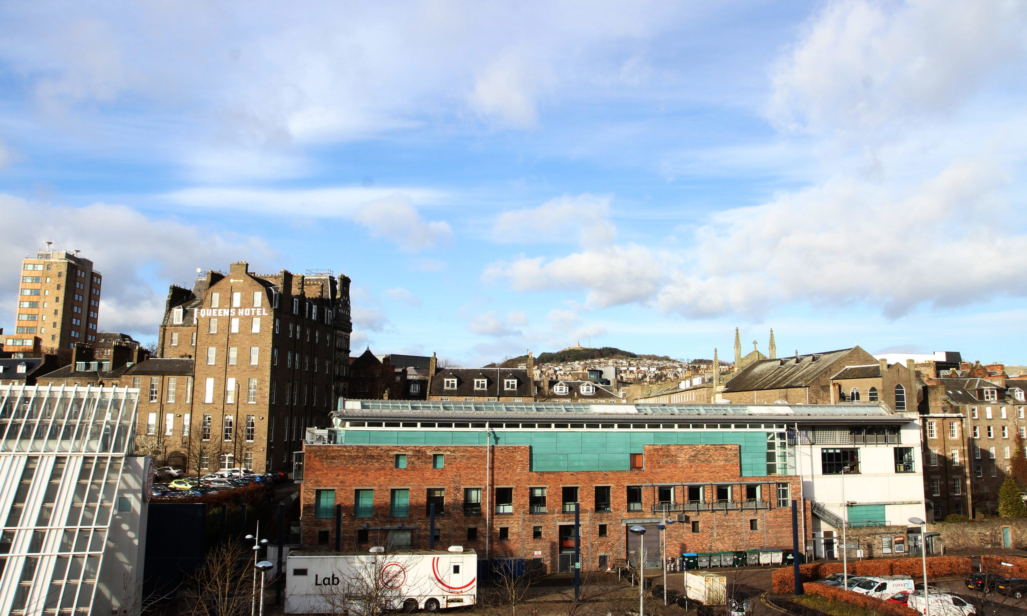 City Centre views over Dundee