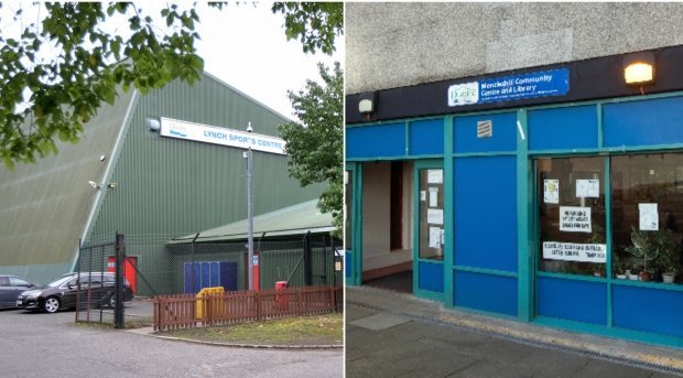 Lynch Sports Centre and Menzieshill Community Centre