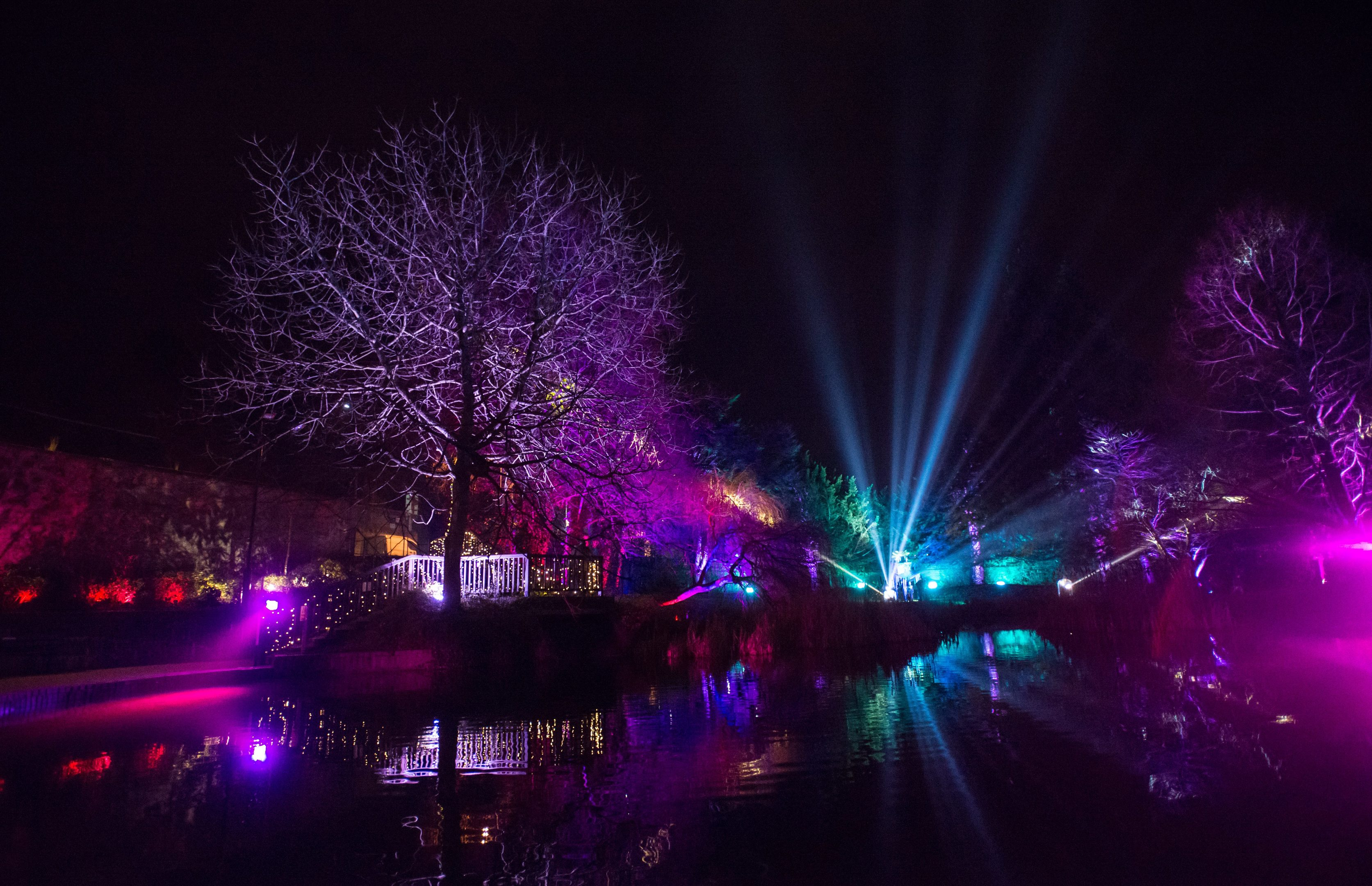 Perth's riverside is to be lit up again.