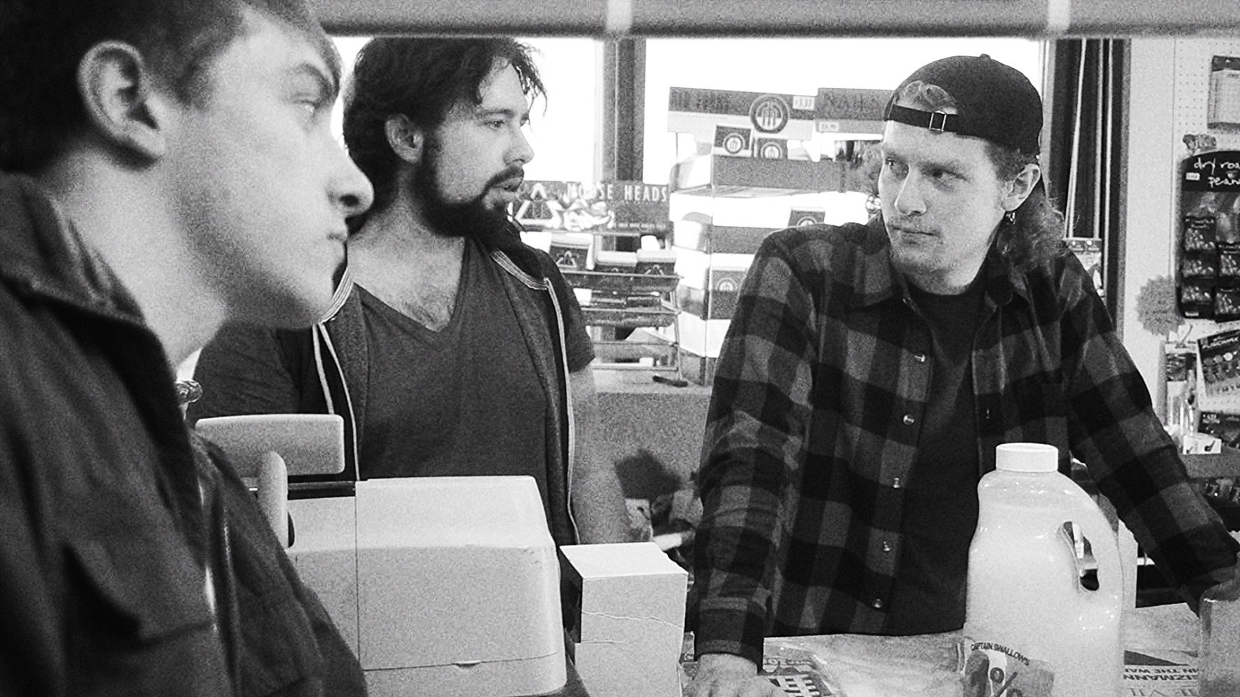 A scene from Shooting Clerks.