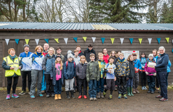 Local youth groups gathered on Kinnoull Hill to try their hand at orienteering.