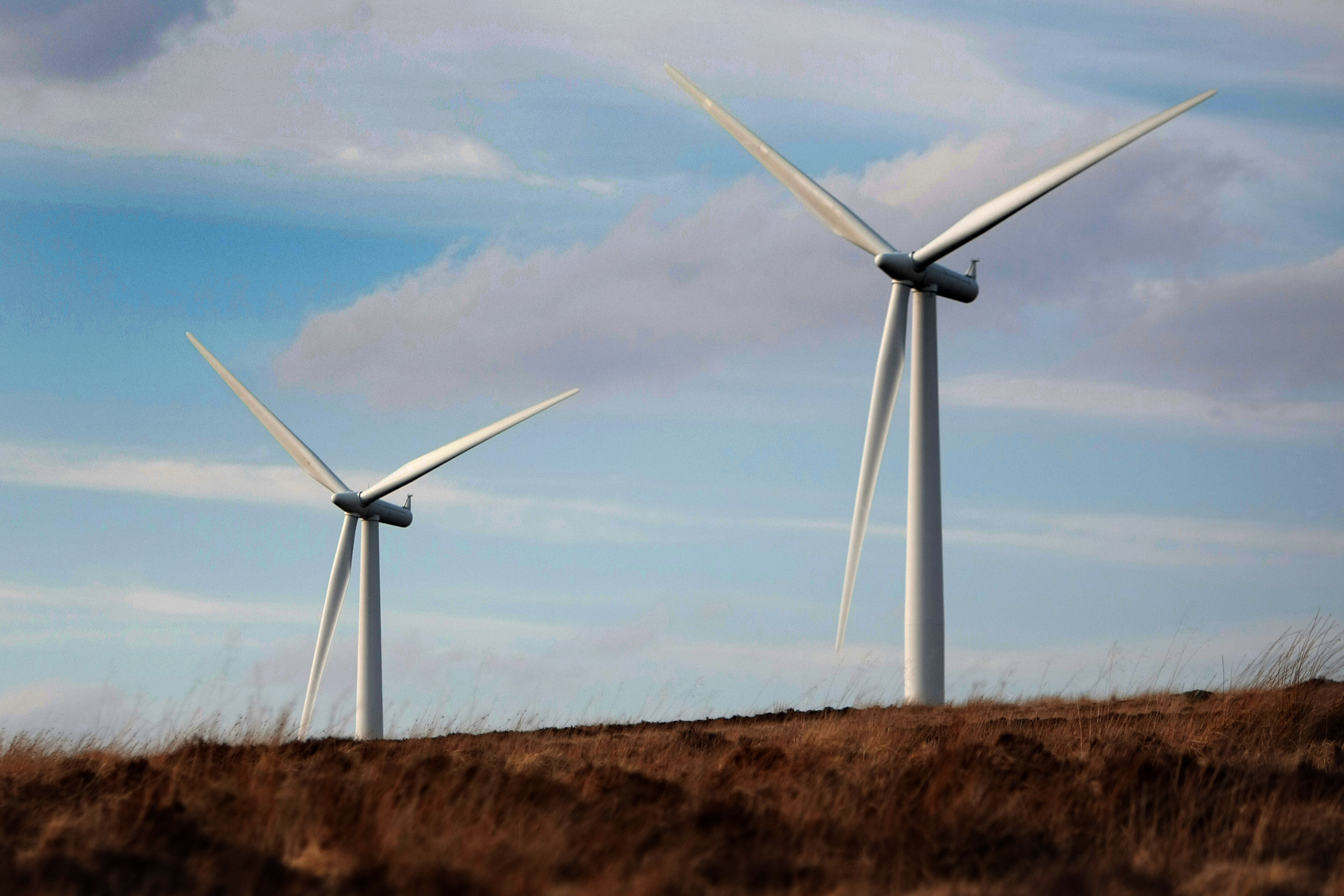 Drumderg wind farm which would be adjacent to the Green Burn development.