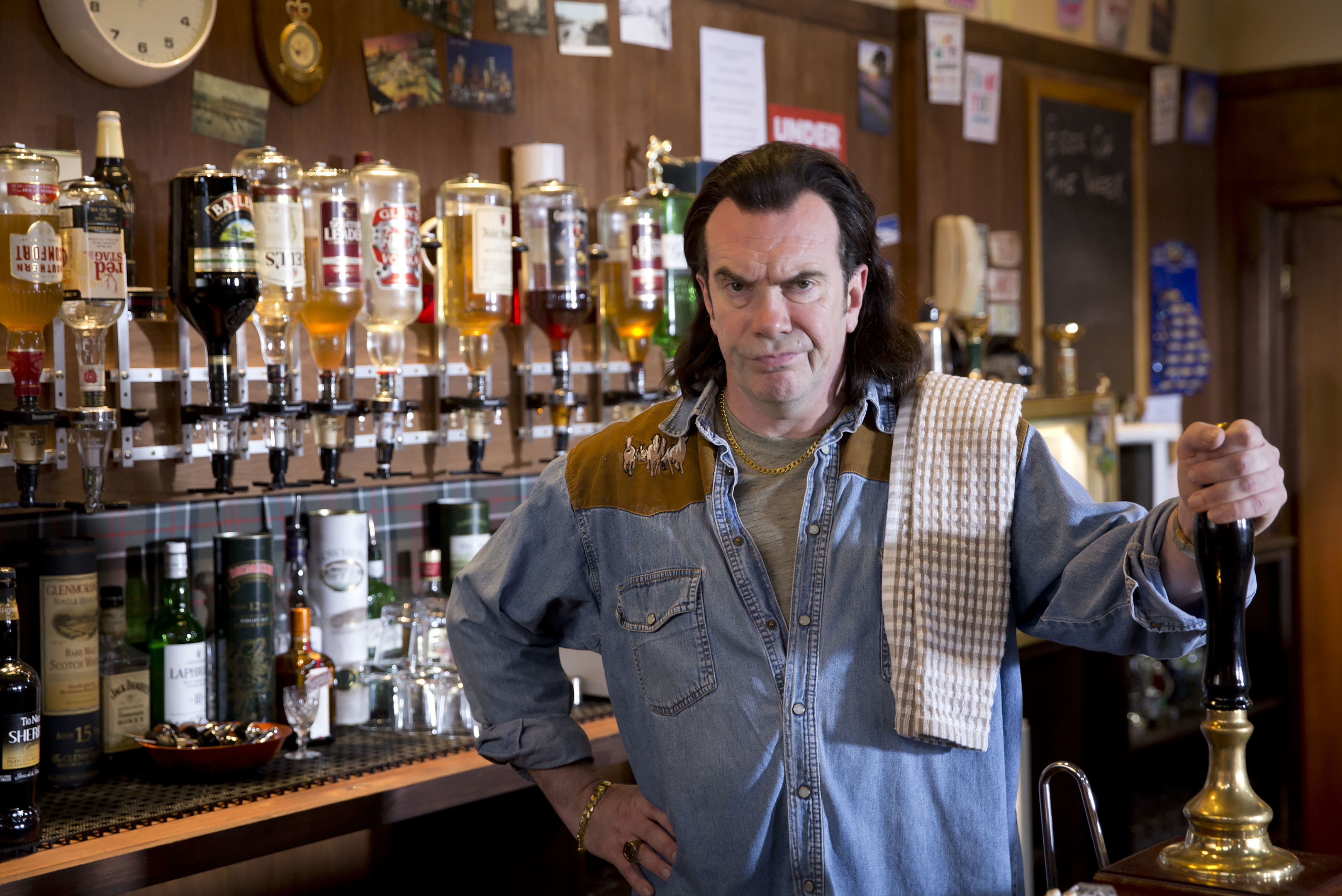 Gavin Mitchell, aka Boaby the Barman in Still Game took part in the initiative.