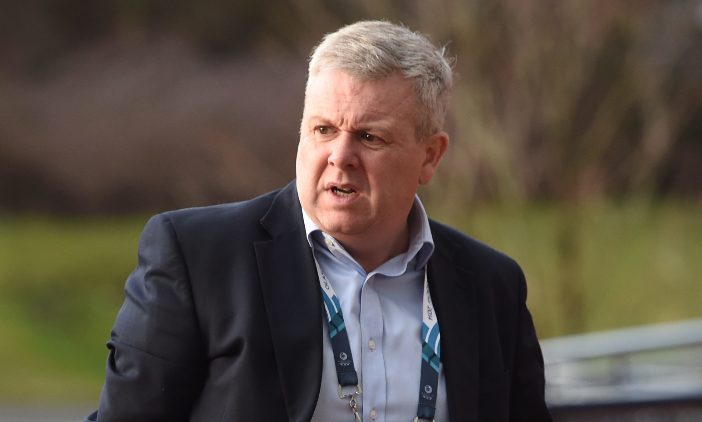 Scottish Golf chief executive Andrew McKinlay quit last week.