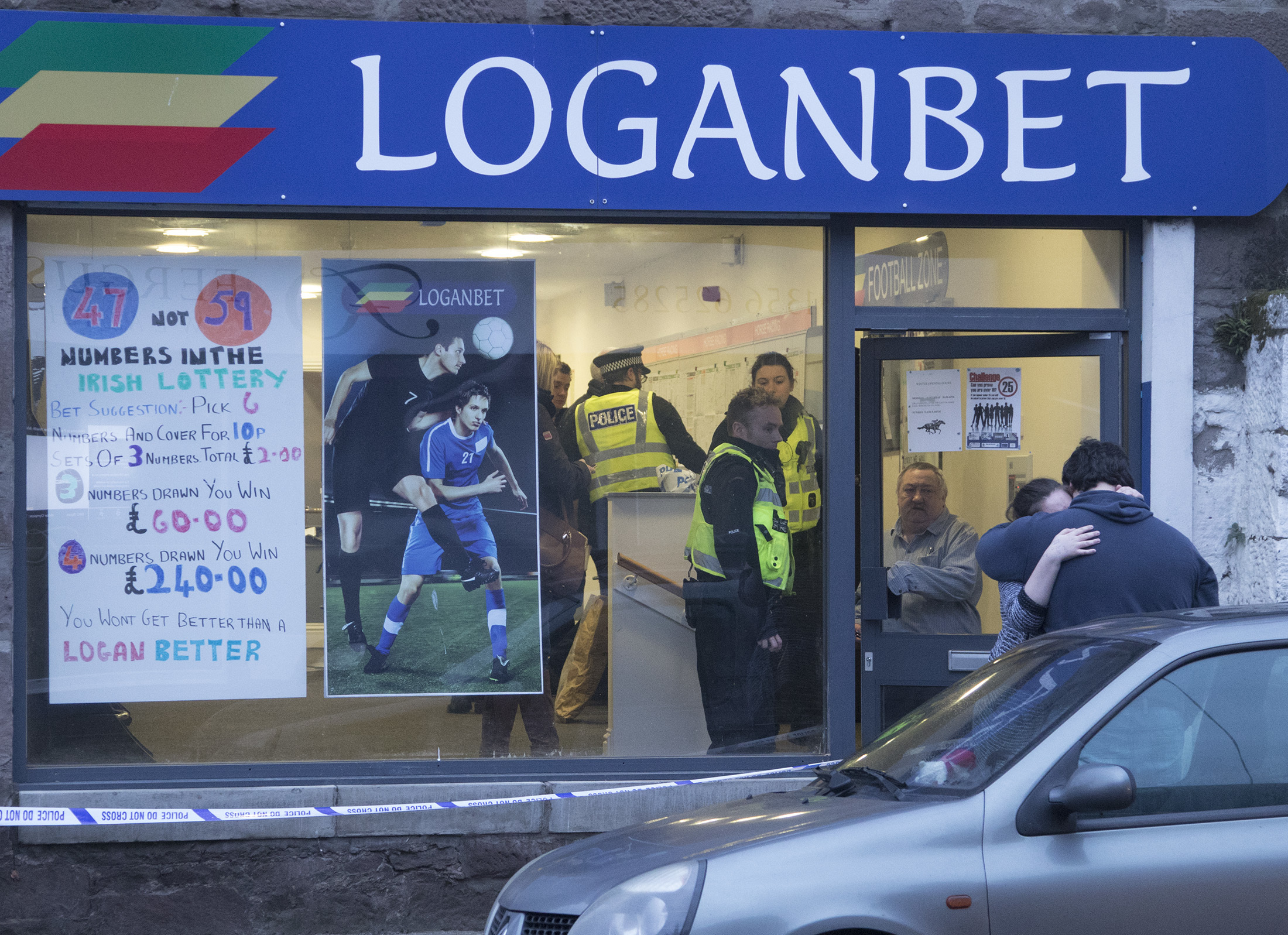 Loganbet Bookmakers in Brechin's Clerk Street