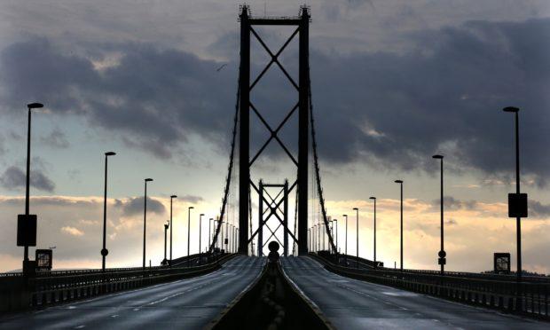 TheForth Road Bridge.