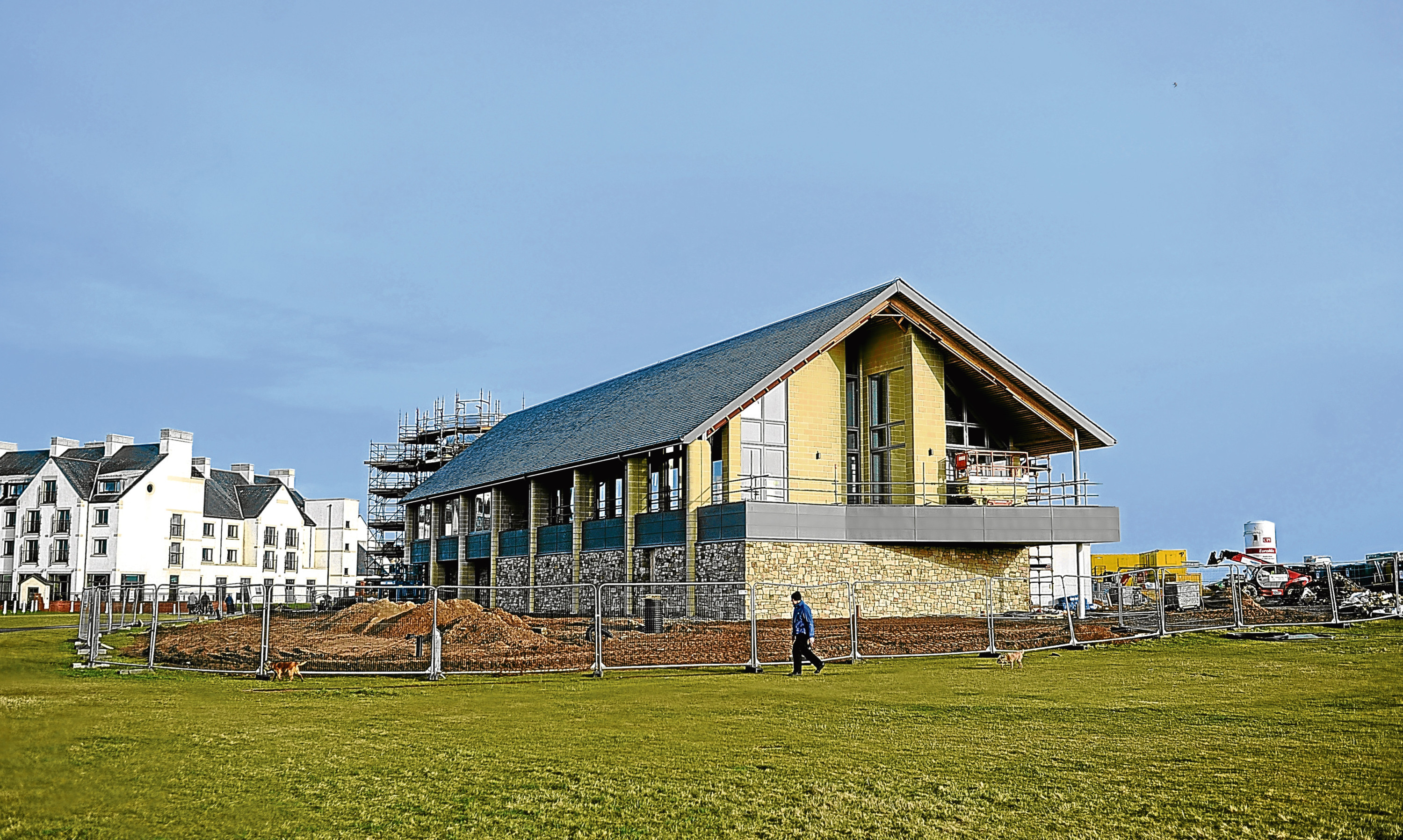 Ogilvie has constructed a large extension to the golf centre at Carnoustie ahead of The Open this summer.